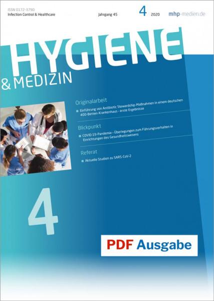 PDF Ausgabe - HYGIENE & MEDIZIN - 04/2020