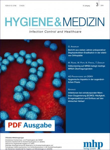 PDF Ausgabe - Hygiene & Medizin 3/2018
