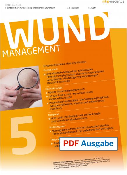 PDF-Ausgabe Wundmanagement 05/2019