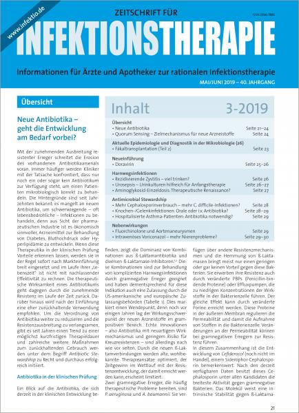 Zeitschrift für Infektionstherapie 03/2019