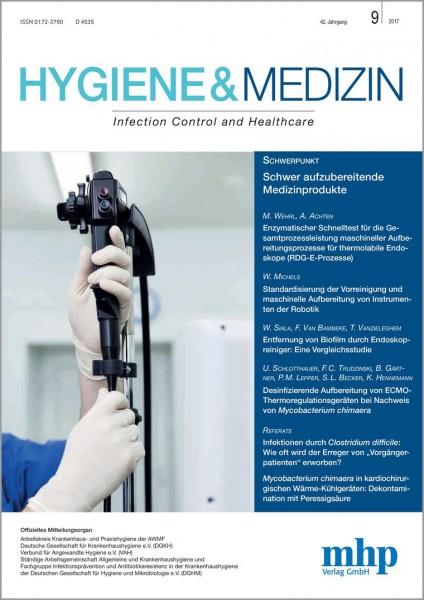 Hygiene & Medizin 09/2017