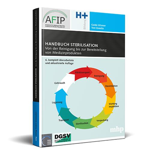 Handbuch Sterilisation - von der Reinigung bis zur Bereitstellung von Medizinprodukten