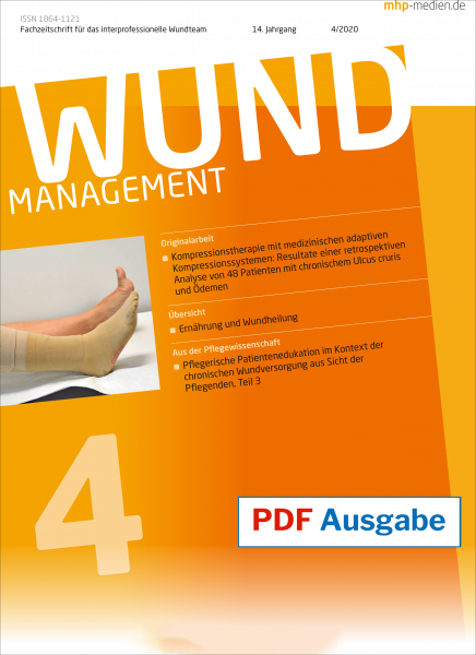 PDF-Ausgabe Wundmanagement 04/2020