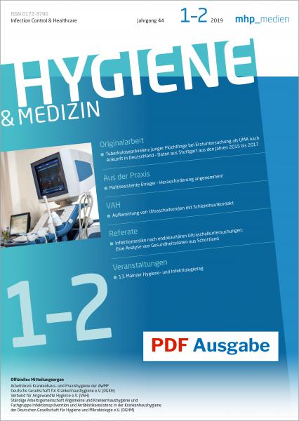 PDF Ausgabe - Hygiene & Medizin 01+02/2019