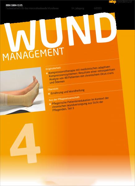WUNDmanagement 04/2020 jetzt verfügbar
