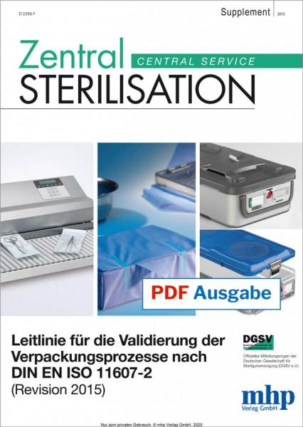 Leitlinie für die Validierung der Verpackungsprozesse nach DIN EN ISO 11607-2