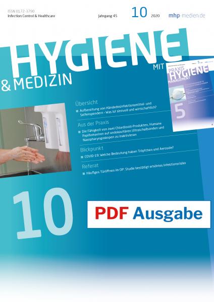 PDF Ausgabe - HYGIENE & MEDIZIN - 10/2020