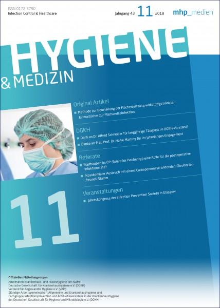 Hygiene & Medizin 11/2018