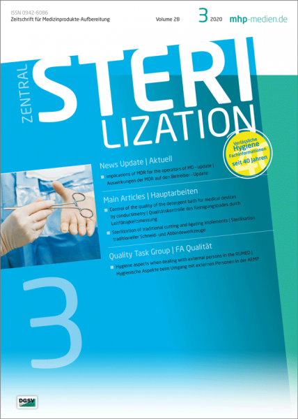 ZENTRALSTERILISATION 03/2020