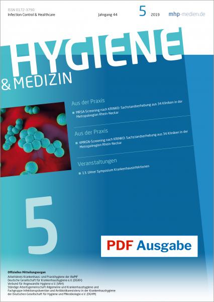 PDF Ausgabe - Hygiene & Medizin - 05/2019