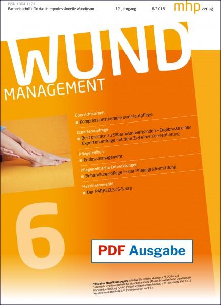 PDF Ausgabe - Wundmanagement 06/2018