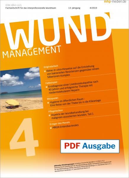 PDF-Ausgabe Wundmanagement 04/2019