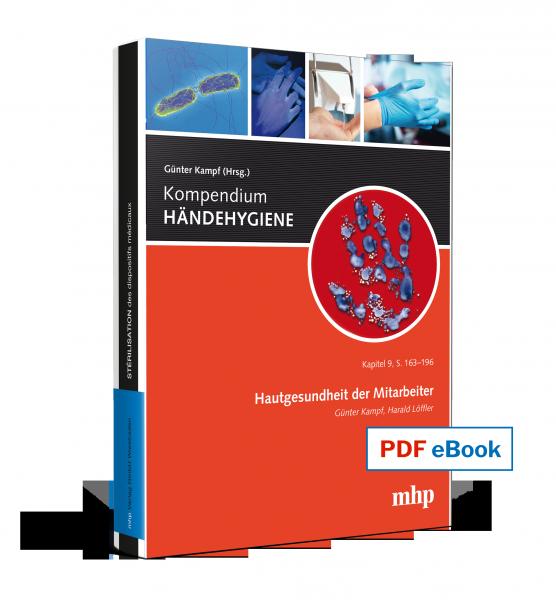PDF eBook - Hautgesundheit der Mitarbeiter Kapitel 9 aus dem Kompendium HÄNDEHYGIENE