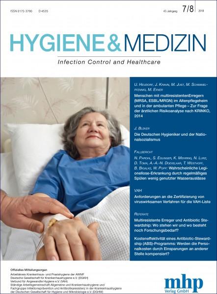 Hygiene & Medizin 7+8/2018