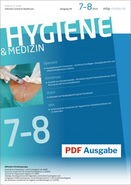 PDF Ausgabe - Hygiene & Medizin - 07+08/2019