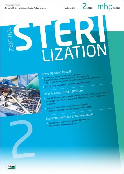 Zentralsterilisation 02/2018