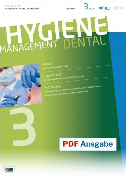 PDF Ausgabe - HYGIENEManagement - 03/2019
