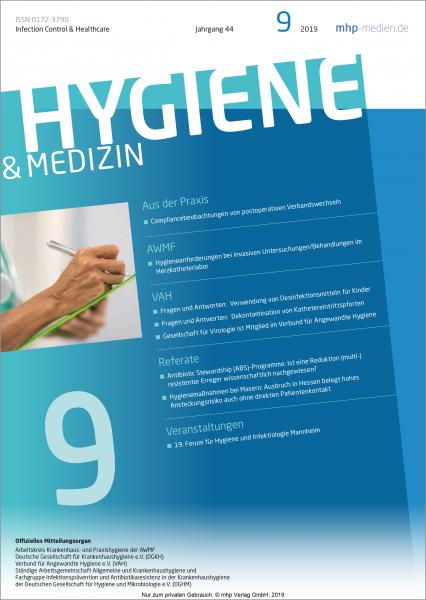 Hygiene & Medizin - 09/2019