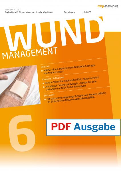 PDF-Ausgabe Wundmanagement 06/2020