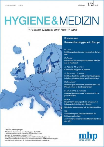 Hygiene & Medizin 1+2/2018