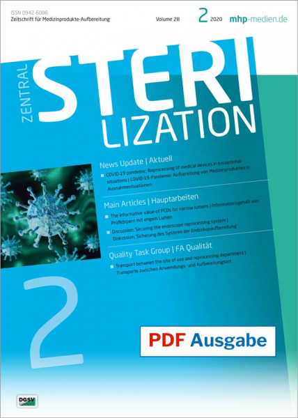 PDF issue - Zentralsterilization 02/2020
