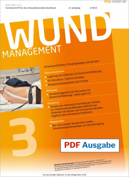 PDF-Ausgabe Wundmanagement 03/2019