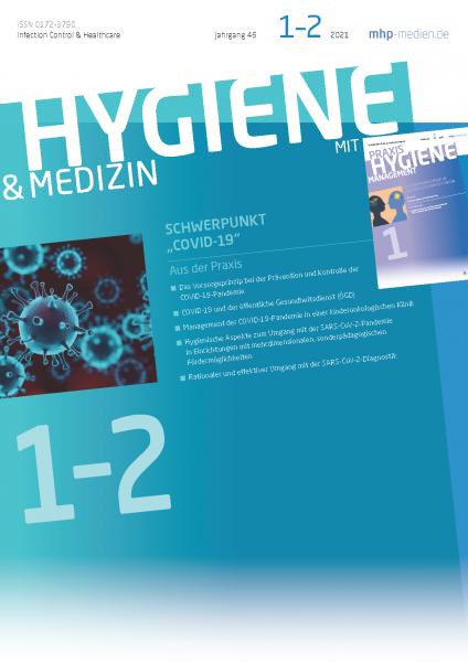 HYGIENE & MEDIZIN - 01+02/2021