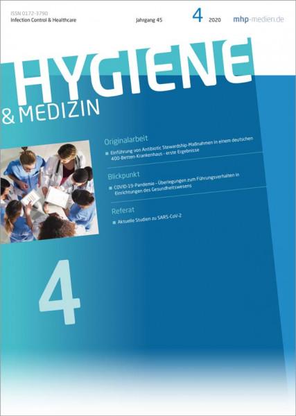 Hygiene & Medizin - 04/2020