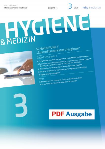 PDF Ausgabe - HYGIENE & MEDIZIN - 03/2020