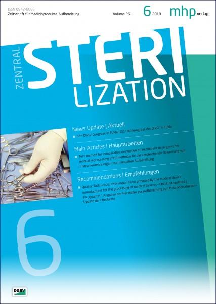 Zentralsterilisation 06/2018