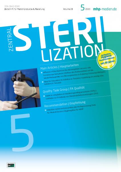 Sterilization 05/2020