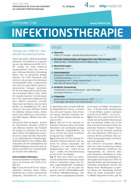Zeitschrift für Infektionstherapie 04/2020