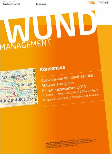 Wundmanagement Konsensus: Auswahl von Wundantiseptika - Aktualisierung des Expertenkonsensus 2018