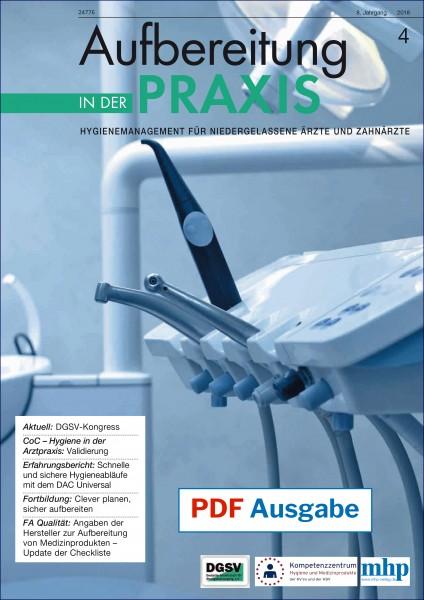 PDF Ausgabe - Aufbereitung in der Praxis - 04/2018