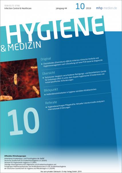 Hygiene & Medizin - 10/2019