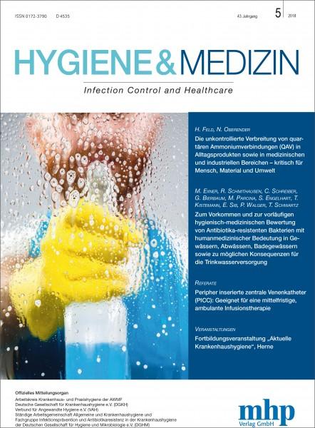 Hygiene & Medizin 5/2018