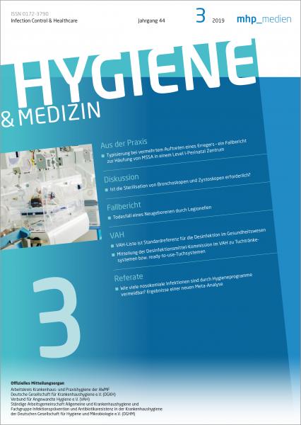 Hygiene & Medizin - 03/2019