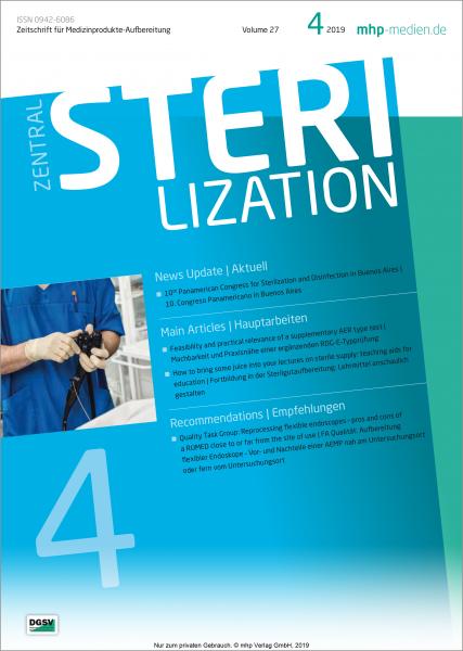 Zentralsterilisation 04/2019