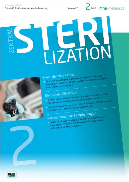 Zentralsterilisation 02/2019