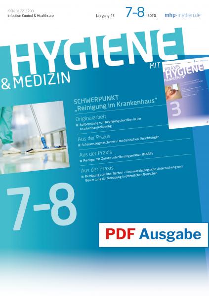 PDF Ausgabe - HYGIENE & MEDIZIN - 07+08/2020