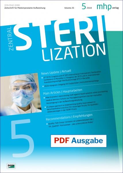 PDF Ausgabe - Zentralsterilisation 05/2018