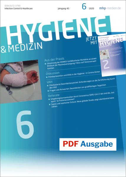 PDF Ausgabe - HYGIENE & MEDIZIN - 06/2020